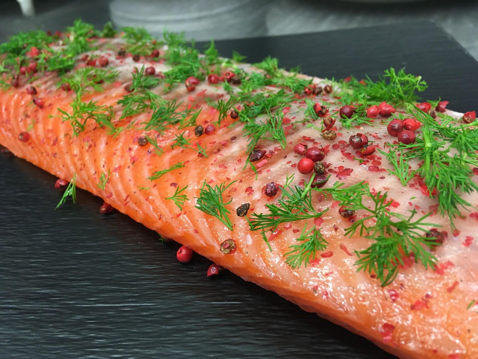 Laissez-vous envoûter par notre saumon