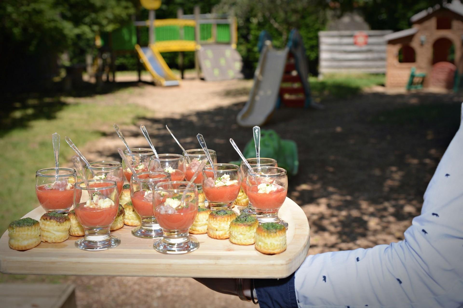 Verrine aux saveurs estivales