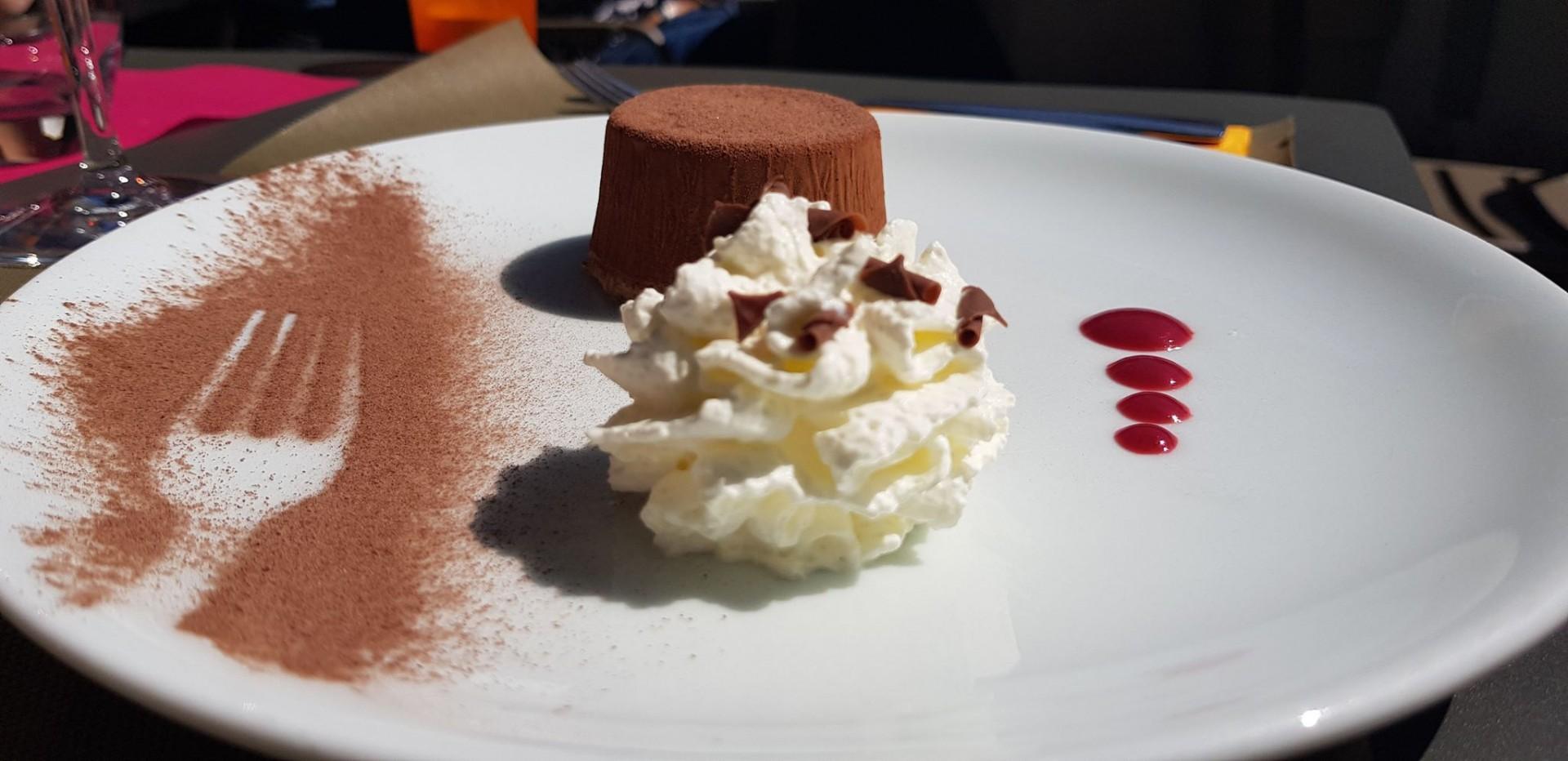 Pour finir avec une touche de chocolat